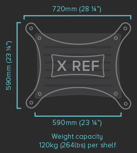 X REF Specifications