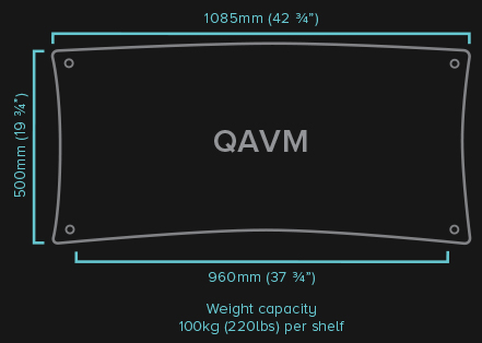 QAVM HiFi Rack Specifications