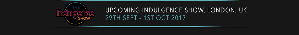 Indulgence Show | 29th Sept - 1st Oct, London 2017