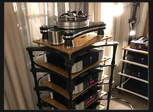 Vpi turntable and Moon Electronics on X Reference