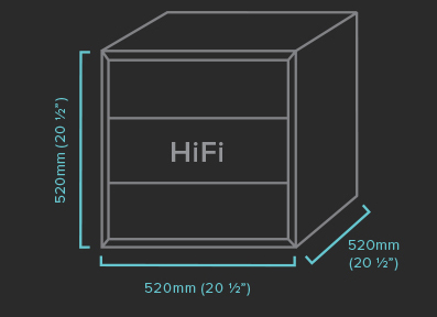 HiFi Qube Specifications