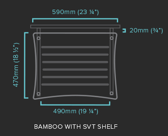 Bamboo with SVT Shelf Specification